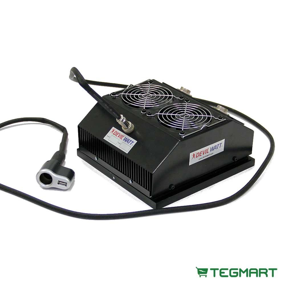 30-Watt TEG Generator for Wood Stoves with Air-Cooling
