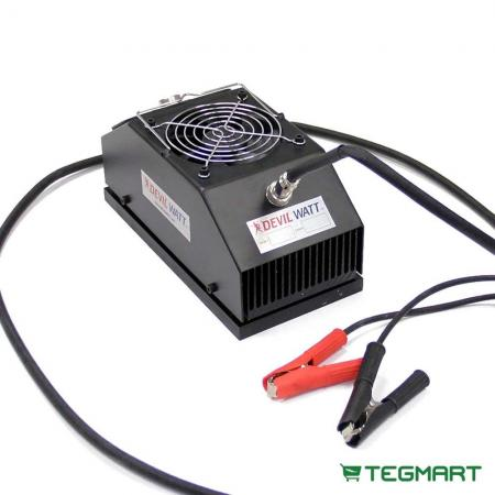 15-Watt TEG Generator for Wood Stoves with Air-Cooling
