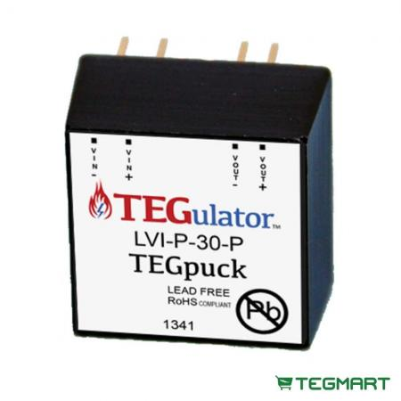 TEG Puck Energy Harvesting Boost Voltage Regulator