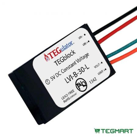 TEG Block Energy Harvesting Voltage Regulator
