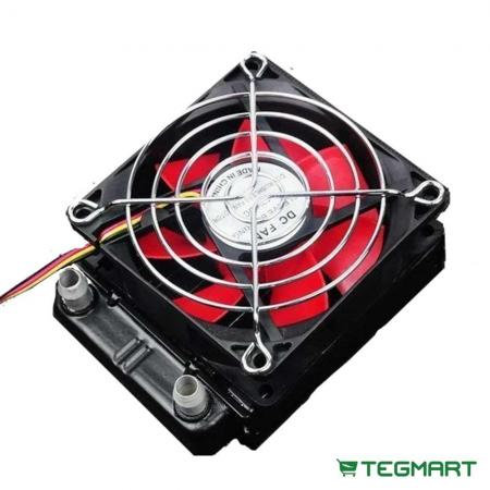 Thermoelectric Module Fan Cooled Hydronic Heat Exchanger